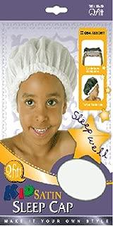 Qfitt KID SATIN SLEEP CAP (BLACK ONLY)