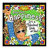 Blue Mountain Arts 2021 Wall Calendar 'Embrace Happiness' 12 x 12 in. 12-Month Hanging Wall Calendar by Suzy Toronto Is a Year of Inspiration for Women