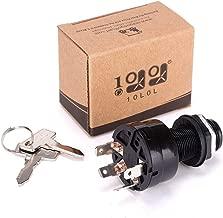 10L0L Ignition Key Switch Precedent 1025151 Common Key for Club Car Golf Car 2004, 4-Pin