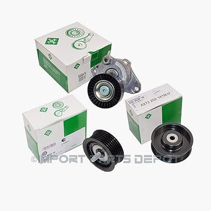 Pulley for Mercedes-Benz C280 C230 C300 C350 CL550 CLS550 R350 ML350 E350 CLK550 SLK350 SLK300 SLK280 SL550 S550 ML550 GLK350 S400 Premium 2722000270 New KOOLMAN Belt Tensioner