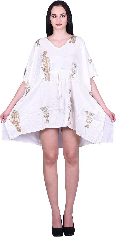 Odishabazaar Womens Casual Swimwear Swimsuit Bikini Cover up Dress Top
