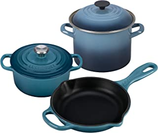 Le Creuset Build Your Own Set - Marine - Choose Just The Items You Need! - Substantial Savings Over Buying Individually!…