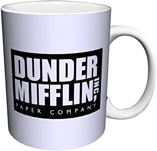 Culturenik 815-640-AMA FBA_815-640-AMA Dunder Mifflin (The Office) World's Best Boss TV Television Show Ceramic Gift Coffee, 11 ounce, version6