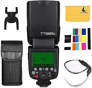 Godox TT685C 2.4G GN60 Inalámbrica Transmisión E-TTL HSS 1/8000s para Canon EOS 30D 40D 50D 60D 5D 6D 60D 70D 80D 700D 750D 1300D 580EX 1DX Camaras (TT685C)