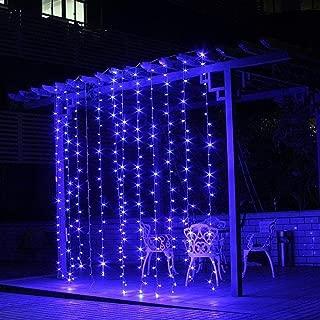 ceiling string lights wedding