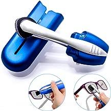 Bestidy Eyeglass Cleaners Set Lens Cleaner for Eyeglasses and Sunglasses Glasses Cleaner for All Types of Eye Wear (Blue)