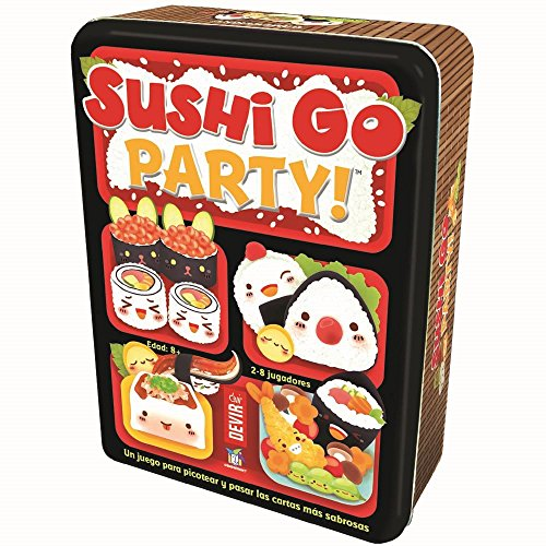 Devir Sushi Go Party Edition in Castellano, Brettspiel (BGSGPARTY)