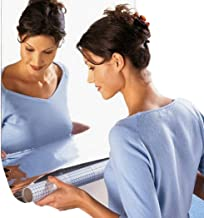 Adesivo de parede para espelho de casa JUSTDOLIFE com decalque decorativo espelhado para banheiro