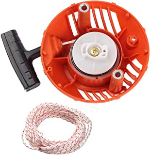 Mannial 576368301 Recoil Starter fit Husqvarna 124L 125L 125LD 125E 128L 128LD 128LDX 128C 128CD 128R 128RJ 128DJX String Trimmer Brushcutter # 2009-001N Higher