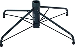 Home Heritage 26 Inch Wide 1-1.5 Inch Diameter Pole Steel Folding Artificial Christmas Tree Stand Base