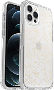 OtterBox Symmetry Clear Series Case for iPhone 12 Pro Max - WallFlower (Clear/Clear WallFlower Graphic)