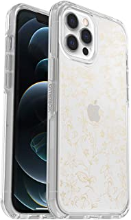 OtterBox Symmetry Clear Series Case for iPhone 12 Pro Max - WallFlower (Clear/Clear WallFlower Graphic) (77-65953)