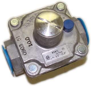 Hearth Products Controls Maxitrol 670 Natural Gas Regulator, 1/2-Inch