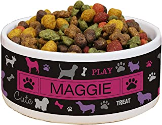 GiftsForYouNow All Breeds Personalized Pet Food Bowl