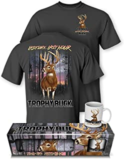 تی شرت Action Whitetail Deer Trophy Buck Hunting و Mug Premium مجموعه را دنبال کنید