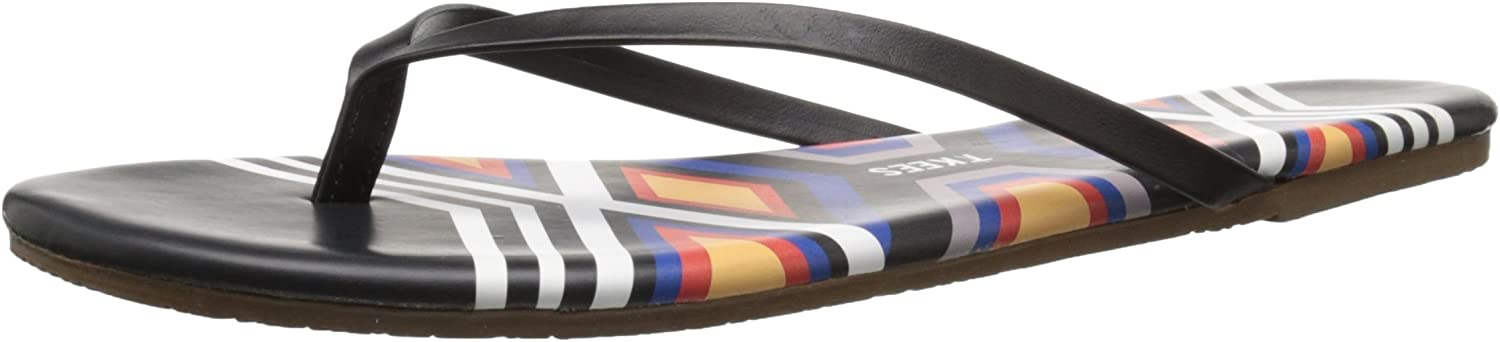 Tkees Women's Graphics Flip Flop