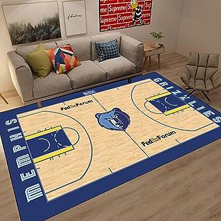 Tritow Tapis de Salon Tapis NBA USA Memphis Grizzlies Basketball Tapis de Sol antidérapant Tapis de Sol intérieur/extérieu...