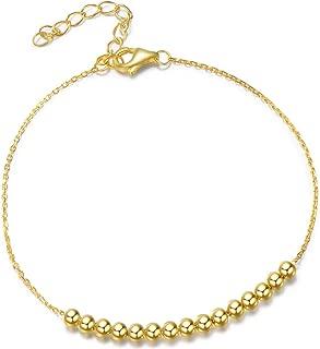 Best gold bead bracelet Reviews