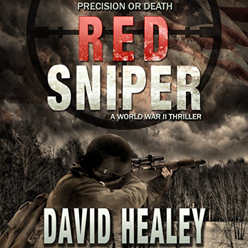 Red Sniper audiobook cover art