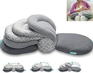 Almohadas para lactancia materna, altura ajustable, color