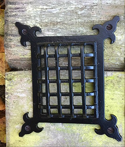 Antikas - reja para el tragaluz del convento - enrejar el tragaluz - escotilla de puerta - puertita monasterio - rejilla para ventanita - mirilla - sótano - reja de hierro