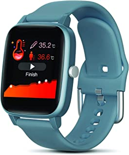 Colmi Health and Fitness Smartwatch with All-Day Body Temperature, Heart Rate, Activity Tracking for android and iphone fo...