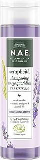 N.A.E. - Shampooing Cheveux Normaux - Certifié Bio - Extraits de Riz Bio et de Lavande Bio - Formule Vegan - 97 % d'ingréd...