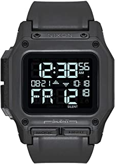 Nixon Regulus Men's Water and Shock Resistant Digital Watch. (46mm. Locking Looper Band)