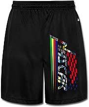 DCM500 Men's NASCAR Workout Pants Black
