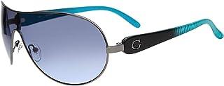 Guess Wrap Around Women's Sunglasses - GUF212-GUN-33-135-133 mm