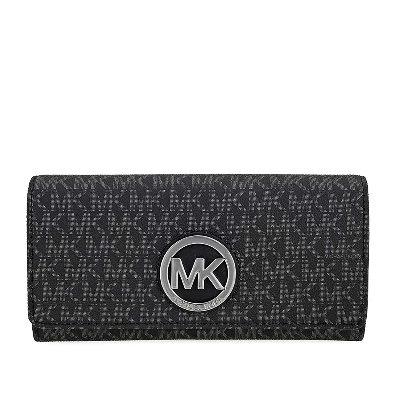 冗談で子豚広げるMichael Michael Korsフルトンロゴキャリーオール財布