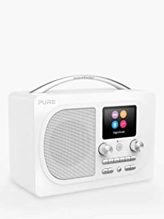PURE Prestige Pure Evoke H4 Prestige Edition Premium Portable DAB/DAB+ and FM Radio, with Bluetooth and Colour Display, Bl...