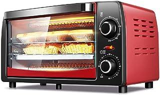 TSTYS Convección Horno Tostador de Gran Capacidad electrodoméstico 12L Multi-función Hornear Cuadro de 1050W, precisa de 60 Minutos de Tiempo, fácilmente se Puede Poner en la Pizza 8 Pulgadas,Red