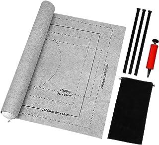BangShou 2000 Pièces Tapis de Puzzle,Puzzle Mates Roll Gonflable,Feutre Jigsaw Mat Board,Tapis de Rangement pour Puzzle,Éc...