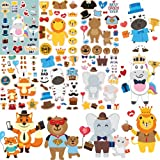 Father's Day Gifts Crafts for Dad from Kids. 36 Stickers Sheets. DIY Preschool Toddlers School Classroom Art Activities, Make Your Own Cards, Create Party Favors Decoration Supplies,