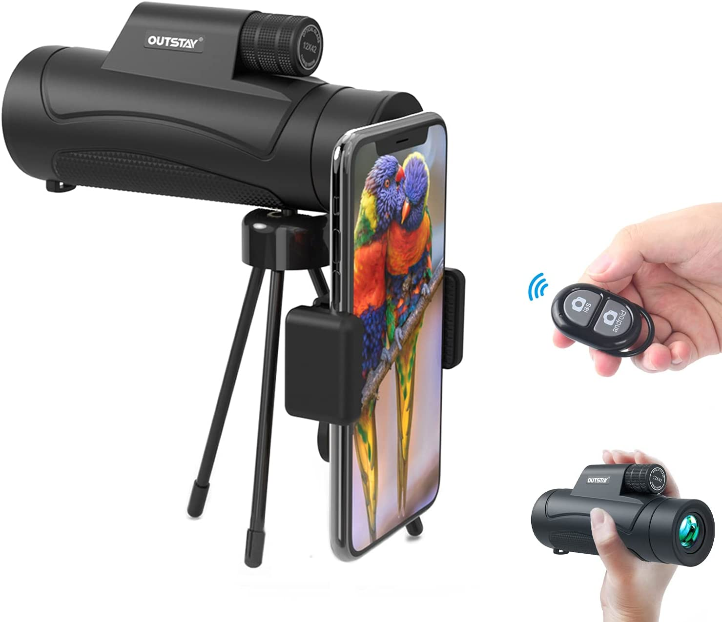 Outstay Ranking TOP5 Monocular Telescopes for Smartphone Wireless with Remote Special Campaign