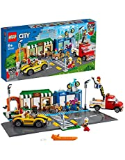 LEGO® City Alışveriş Caddesi 60306 Yapım Seti; Çocuklar için Harika Yapım Oyuncağı (533 Parça)