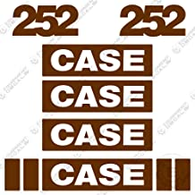 Case 252 Roller Decal Kit