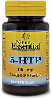 Triptófano (5-htp 100 mg.) 60 cápsulas con magnesio y vitamina B-6