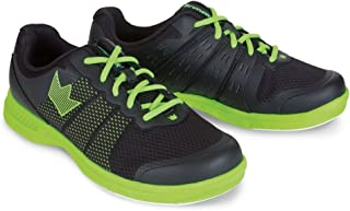 Brunswick Mens Fuze Bowling Shoes- Black/Neon