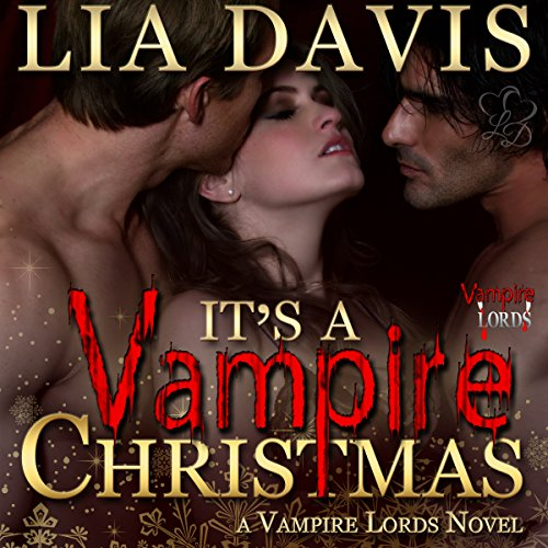 It's a Vampire Christmas audiobook cover art