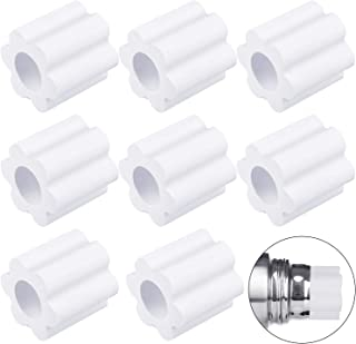 Shappy 8 Pieces Cup Turner Foam White and Pink Cup Turner Inserts Accessories 2.44//2.83//3.18//3.74 Inch Diameter Foam Inserts for Tumblers Bottles Cups