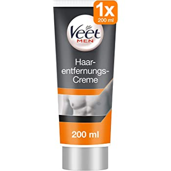Amazon Com Veet For Men Hair Removal Gel Creme 200ml 1