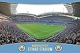 GB Eye Ltd Manchester City Etihad Stadion Maxi Poster,