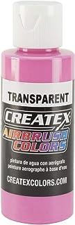 Createx Airbrush Paint, Transparent Flamingo Pink, 2 oz (5121-02)