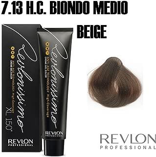 Revlon Revlonissimo High Coverage Matices, Tinte para el Cabello 713 Rubio Beige - 60 ml