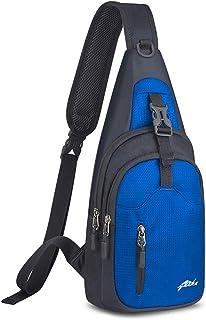 Y&R Direct Sling Bag Sling Backpack,Shoulder Chest Crossbody Bag Purse Nylon Lightweight MulticolorSmall Daypack Outdoor Hiking Camping Travel Women Men Boy Girls Kids Gifts