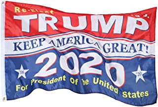 ROTERDON President Donald Trump Flags - 3x5 ft 2020 Keep America Great Fade Resistant America Banners