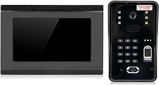 Monitoreo, intercomunicador con visión nocturna, para seguridad en el hogar(European regulations)