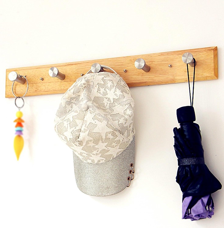 Hangers Wall Living Room Bedroom Entrance Simple Modern Clothes Coat Rack (Size   5 Hooks)